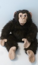 "Folkmanis Large 22"" Inch Plush Monkey Chimp Puppet Folktails EXCELLENT - $15.00"