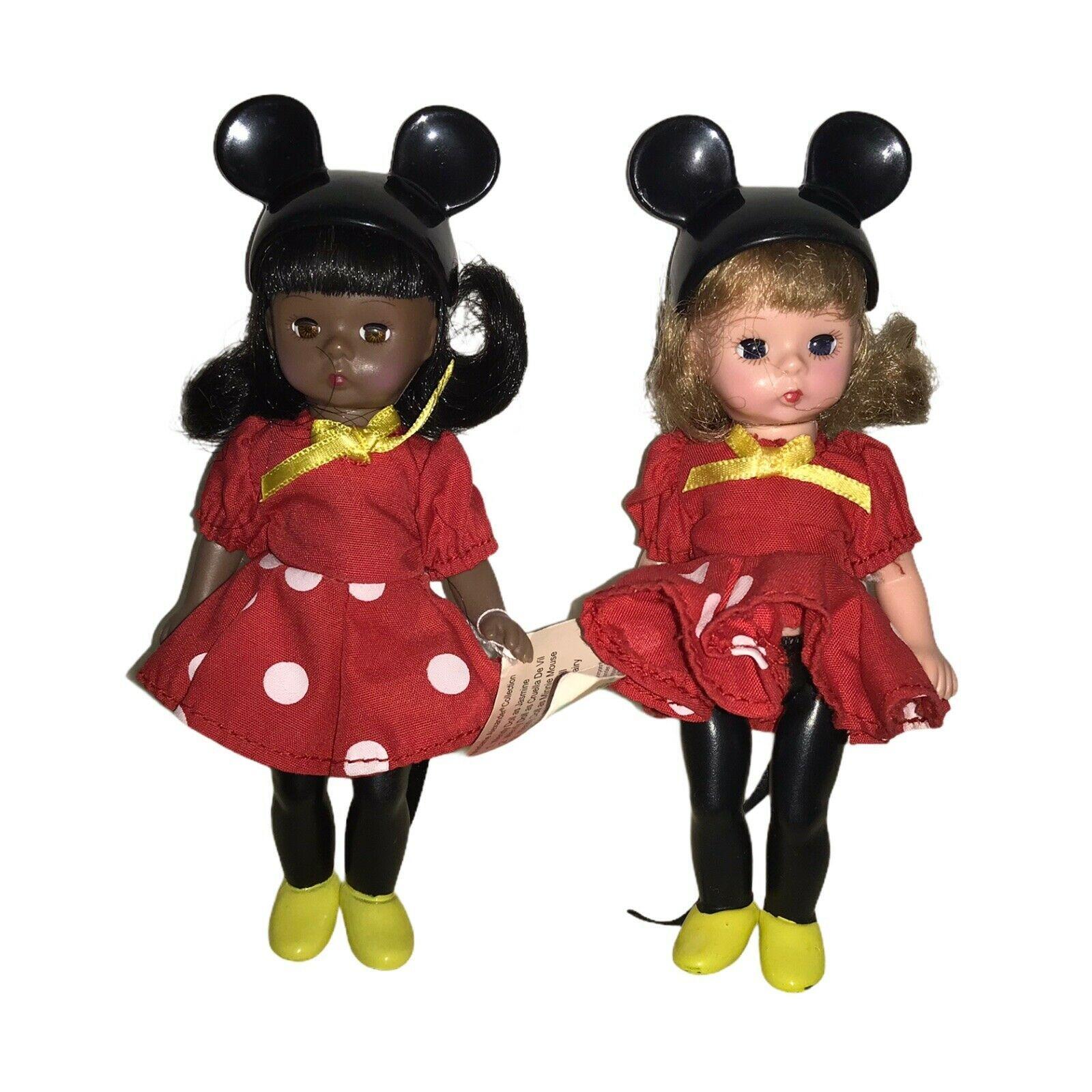 2 Madame Alexander as Minnie Mouse - $17.82