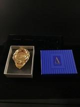 "Avon Gold Tone $16,000 + Award Brooch  1 7/8 X 1 1/2"" (1540) - $7.50"