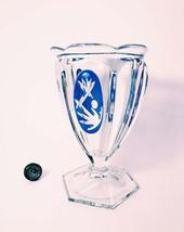 Empire Vase. 17 cm. Candy vintage vase. Buble vase. - $89.00
