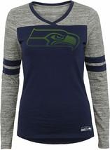 Outerstuff NFL Junior Girls  Long Sleeve Football Tee, Seattle Seahawks M (7-9) - $18.65