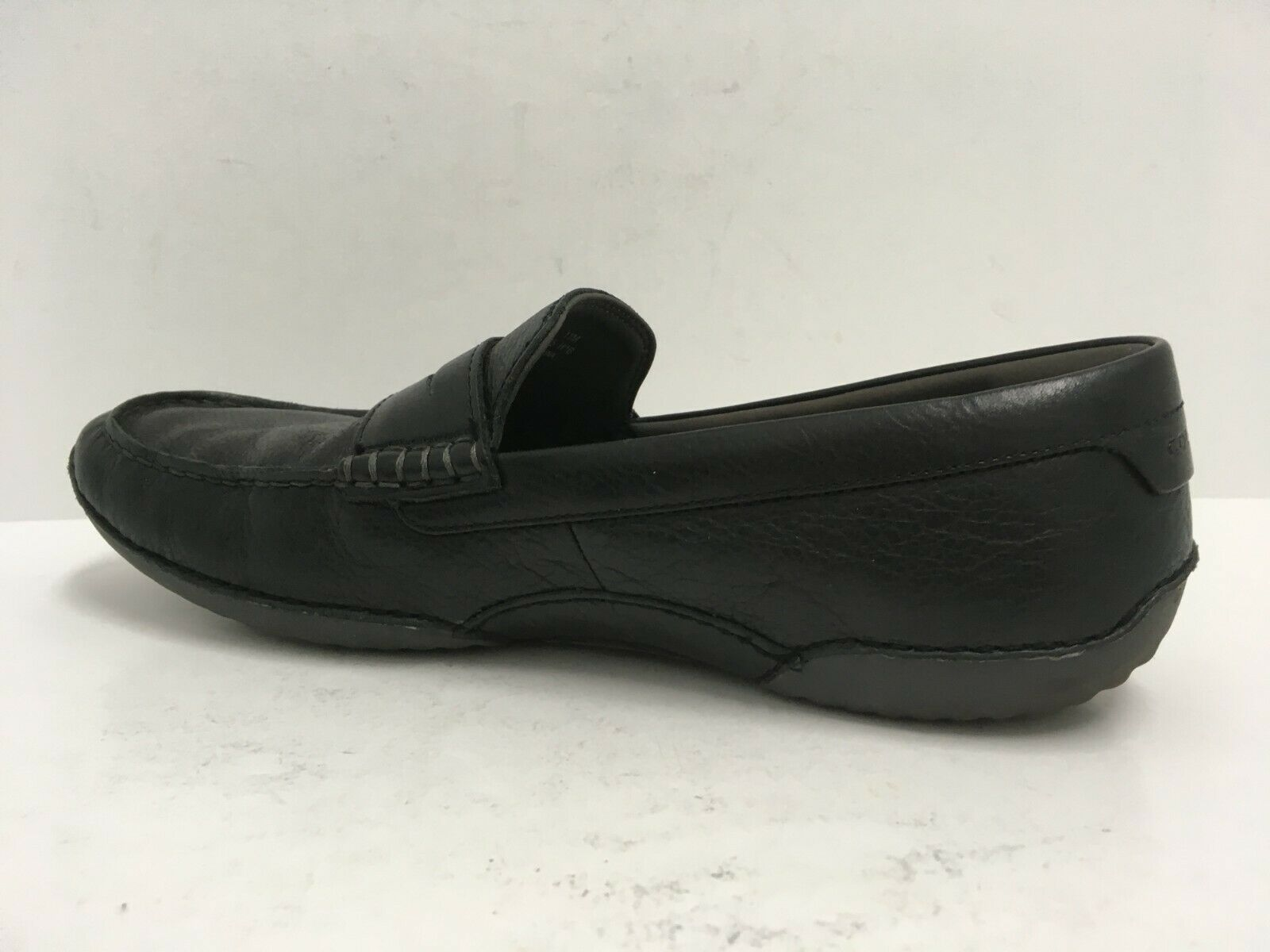 Cole Haan Men's MOTOGRAND Penny Loafer Black Leather Driving Shoes Size 11M GUC image 5