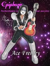 KISS Ace Frehley Epiphone Les Paul Stand-Up Display - $15.99