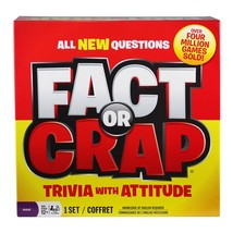 Fact or Crap Board Game NIB Original Wrap Truly Bizarre Trivia - $47.45