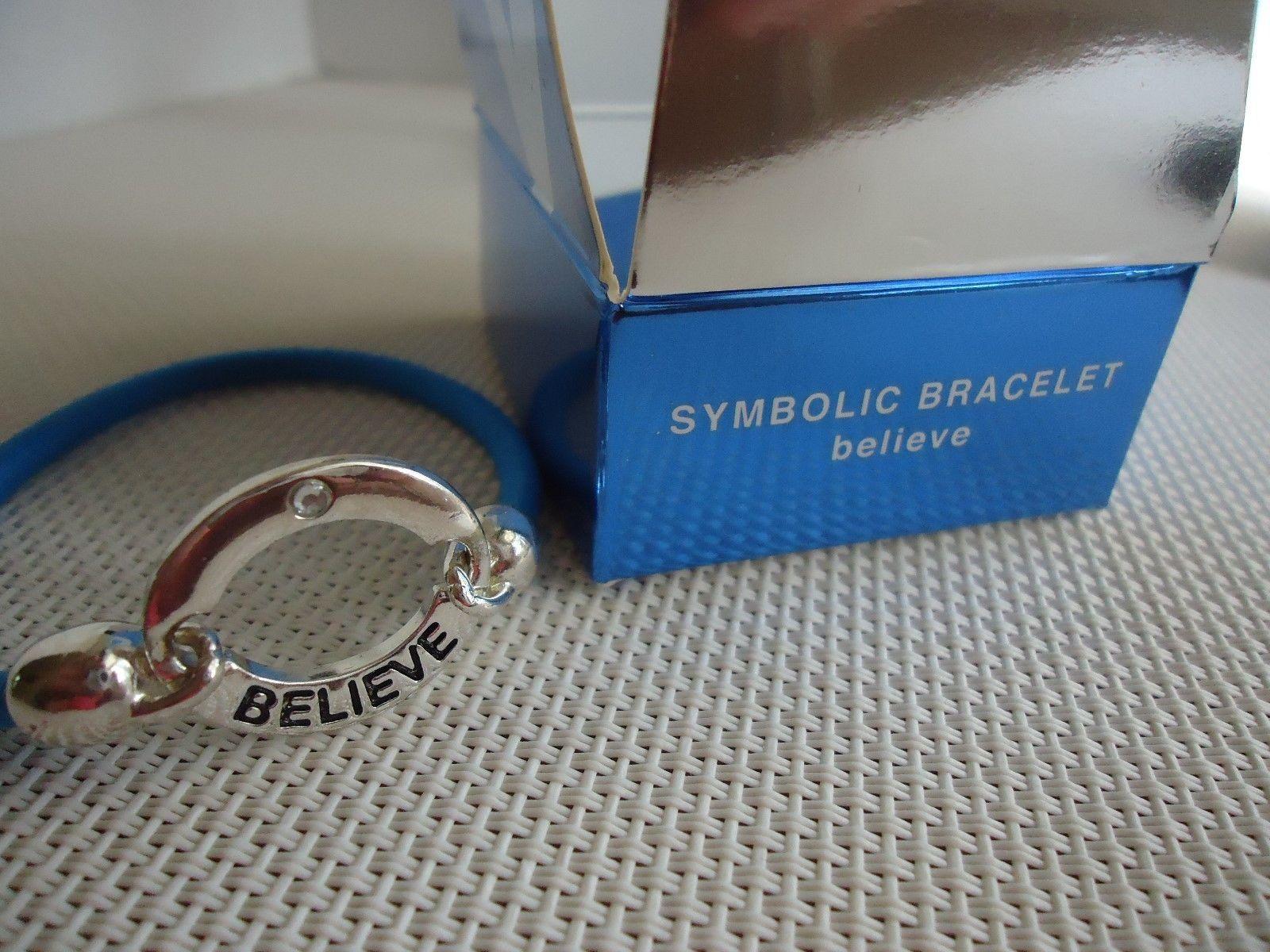Lot of (3) Symbolic Bracelets Love Believe Succeed
