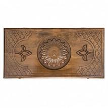 "READY TO SHIP! Armenian Handmade Backgammon ""Flower"" - Set Board Game Ha... - $99.00"