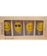 Emojis 14.5 oz Hiball Glasses Set of 4 by Circleware - $26.72