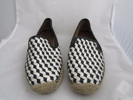 ​Vince Camuto Signature Womens Shoes Flats VI Charie  Black White Silver... - $26.27