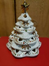 "Lenox Bejeweled Christmas Tree Holiday Christmas Ornament 4"" in Box - $19.00"