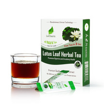 LeCharm Premium 100% Natural Lotus Leaf Tea Sugar Free (10 Sachets) - $10.84