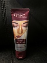 Retinol Gold Peel-Off Mask Tightens & Lifts Soothes & Hydrates 3.4 Oz - $12.82