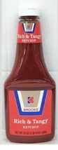 Brook's Rich & Tangy Tomato Ketchup 24 oz - $5.74