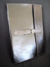 A4 Handmade Black Leather Sketchbook Journal  - Pages of DECKLED Cotton ... - $70.00