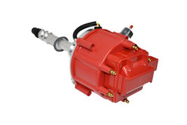 CHEVY GMC 4.3L V-6 HEI020R HEI Distributor with Red Cover Super Cap image 3