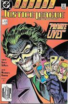 Justice League Comic Book Annual #2 DC Comics 1988 VERY FINE+ MINT NEW U... - $3.25