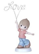 Precious Moments 129012 Love You Above All ~ Boy Figurine - $51.27