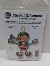 ELF Pin Pal Ornament needlepoint kit 5605 Holiday Christmas  - $11.75