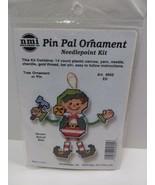 ELF Pin Pal Ornament needlepoint kit 5605 Holiday Christmas  - $11.75