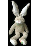 "Animal Adventure Plush Bunny Rabbit Carrot Paw Floppy Cream 14"" Stuffed ... - $12.33"