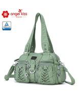 ANGEL KISS Luxury women's shoulder bags. Soft PU leather crossbody bags. - $59.99