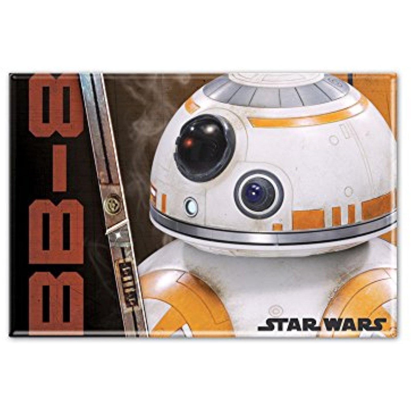 "Star Wars BB8 2.5"" x 3.5"" Metal Magnet"