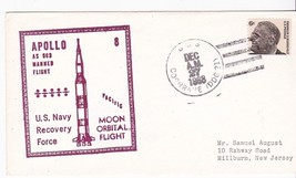 APOLLO 8 AS 503 RECOVERY FORCE USS COCHRANE (DDG-21) DEC 27 1968 PACIFIC  - $3.98