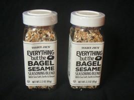 Trader Joe's Everything but the Bagel Sesame Seasoning blend 2.3 oz pair - $9.90