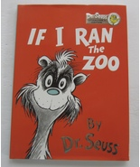 If I Ran The Zoo Dr Seuss Collector's Edition Hardcover Book Dust Jacket... - $325.00