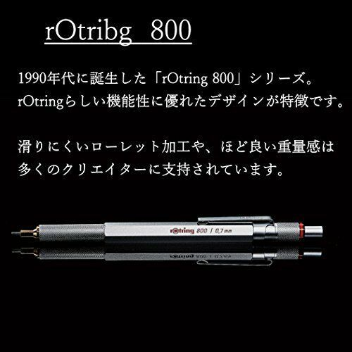 Rotring-stationery-Drafting supplies Mechanical Pencil 800 2mm 1922-347 image 2
