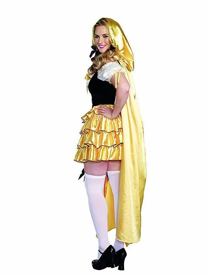 Dreamgirl Goldilocks Bears Fairytale Gold Sexy Womens Halloween Costume 9895