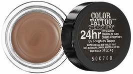 MaybellineNY Eyestudio ColorTattoo Metal 24HR Cream Gel Eyeshadow Tough ... - $6.99