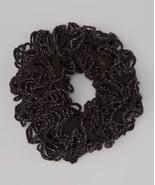 Trendy Black Girls Stretchy Knit Infinity Scarf  One Size MSRP $19.99 SA... - $15.99