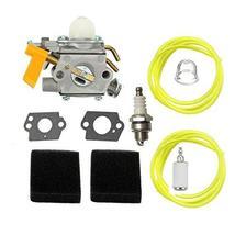 Shnile Carburetor Carb Compatible With Ryobi RBC30SET RLT30CET Jcb BC26 LT26 HT2 - $30.92
