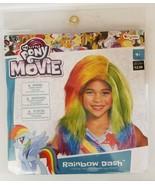 Disguise Child My Little Pony® The Movie Rainbow Dash Wig - $11.88