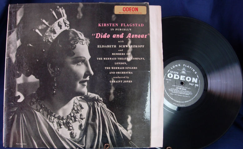 Kirsten Flagstad - DIDO AND AENEAS - Odeon Records ALP 1026