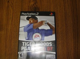 Tiger Woods PGA Tour 07 2007 for Playstation 2 PS2  - $4.89