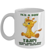 Tajiri April The Giraffe It's A Boy Coffee Mug - $15.99