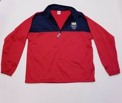 2012 London Olympic Games Team USA Pullover Sweater Jacket XXL - $29.69