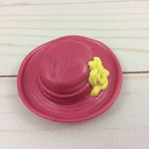 Fisher Price Loving Family Dollhouse Mom Pink and Yellow Hat - $2.50