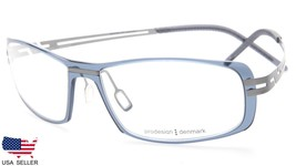 NEW PRODESIGN DENMARK 6503 c.6735 GREY BLUE EYEGLASSES FRAME 57-17-150 B... - $113.83