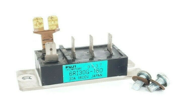 FUJI ELECTRIC 6RI30G-160 POWER BLOCK MODULE 30A, 1600V