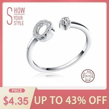 OrsaJewels® 13Pc/Set Cubic Zirconia Paved Zero Open Cuff Adjustable Rings - $8.48