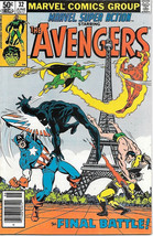 Marvel Super Action Comic Book #32 The Avengers 1981 VERY FINE - $4.50