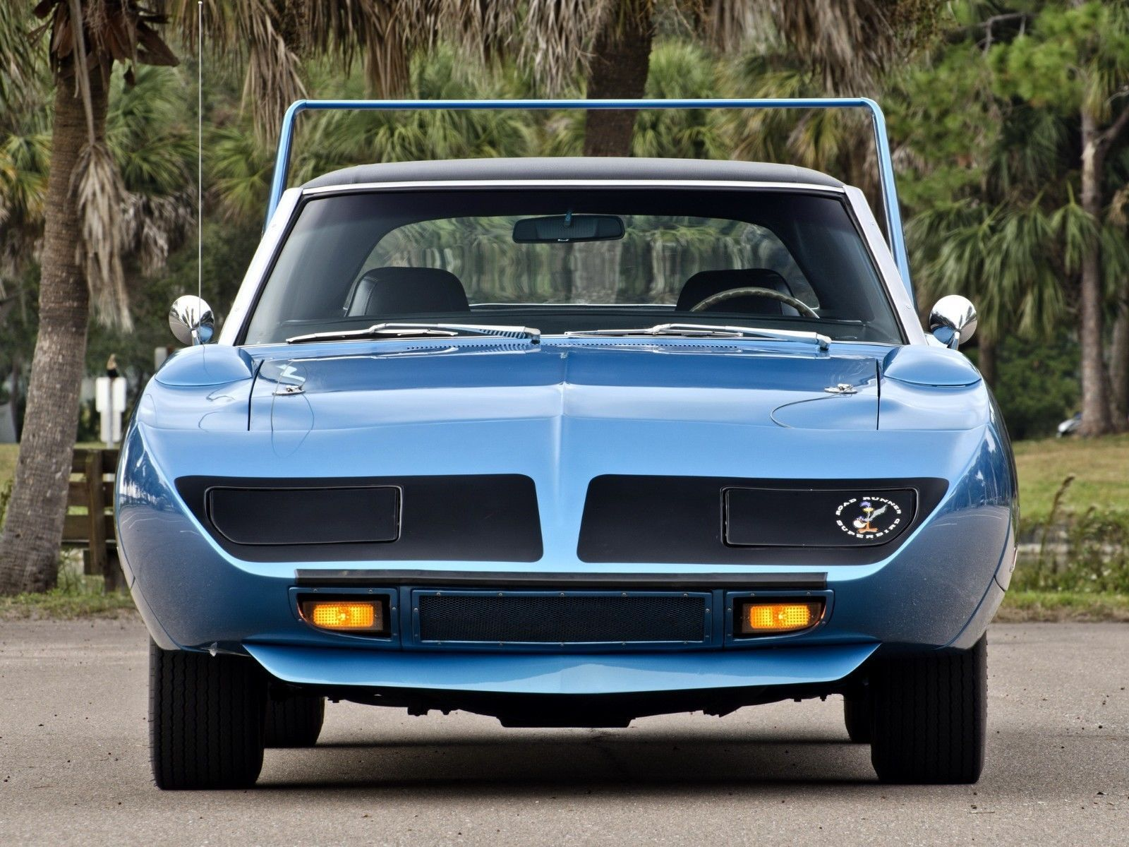 Primary image for 1970 Plymouth Superbird front l POSTER | 24 x 36 INCH | muscle car |