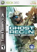 Tom Clancy's Ghost Recon: Advanced Warfighter (Microsoft Xbox 360, 2006) - $2.99