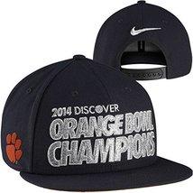 Nike Clemson Tigers 2014 Orange Bowl Champions Locker Room Players Snapback Hat  - $24.02