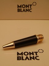MontBlanc pen replacement spare parts Mont Blanc Lower Barrel  Black Gold - $22.37
