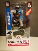 Cam Newton : Panthers  - 2016 Madden NFL 17 Ultimate Team Mcfarlane figure - $31.30