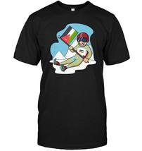 Jordan Ski   Jordanian Flag Skiing T Shirt - $17.99+