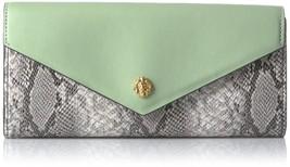 Anne Klein,Envelope Wallet,Black/White, One Size - $64.30